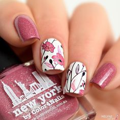 Julie aka @melynenailart wearing 'New York' ❤️❤️thank you :) Shoplink in bioor www.picturepolish.com.au + we ship to selected countries and for international on-line stockists please see that page thx