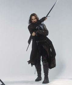 Aragorn. I only have one chance left and I am taking it! I shall be making an Aragorn costume for the last Hobbit movie.