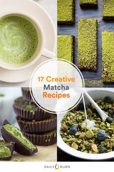 Let's face it, you need more matcha in your life. Whip up these 17 matcha recipes to reap the health benefits of this green tea powder. via @dailyburn