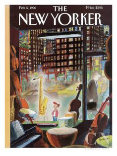 The New Yorker Cover - February 5, 1996 Poster Print by Jean-Jacques Sempé at the Condé Nast Collection