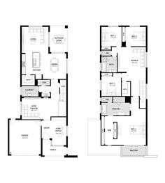 Layout of my dream home - I sooo want to build this....