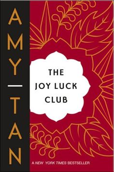 The Joy Luck Club. My writing prof had a helping hand in this book. She certainly helped me shape the writer I am today.