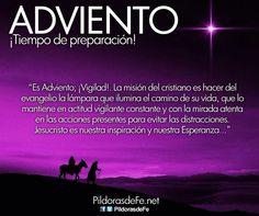 Inicia el tiempo de AdvIento Advent Season, Spirit Guides, Christian Quotes, Christianity, Believe, Prayers, Faith, God, Ideas