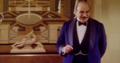 Agatha Christie's Poirot - brilliantly portrayed by David Suchet.  Suchet is a genius and his Poirot is magic.  Everything about this show is perfect, from the settings, to the clothes, to the characters and storylines.