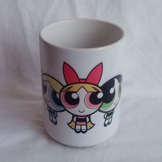 Powerpuff Girls Mug by noveltiescarlitos on Etsy, $14.00