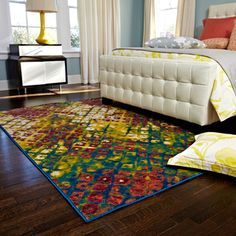 @Overstock.com - Skye Monet Multi Rug (5'2 x 7'7) - Are you ready to update your room with some color? Inspired by the beauty of contemporary watercolor paintings, the Skye Monet Rug from Egypt is power loomed of 100-percent polypropylene, which will remain colorful for years to come.  http://www.overstock.com/Home-Garden/Skye-Monet-Multi-Rug-52-x-77/7751901/product.html?CID=214117 $126.89