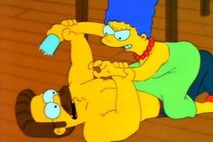 """Ahh community theatre - sometimes it's awesome and sometimes it's """"Streetcar! The Musical"""" - Picture and quote from A Streetcar Named Marge - Season 4 The Simpsons. Simpsons Episodes, The Simpsons, Season 4, Lisa Simpson, Winnie The Pooh, Musicals, Disney Characters, Fictional Characters, Pictures"""