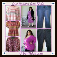 #SOLD - We got Lynne Cheri Cheryl Roberta and Tammy #PAID UrbanThick.com is transforming the way plus size women and big & tall men buy and sell clothes! #Quality guaranteed! #getpaid #sellyourstuff #plussuze #plussizeclothing #curvy #ccurves #shopnow #buy #sell #makeextracash #tryusforfree #trendy #onlinshopping #fashion #sylish #trendy #affordable #fstshipping #becomeaseller #urbanthick UrbanThick.com/sell