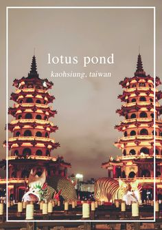 Visiting the Lotus Pond in Kaohsiung, Taiwan