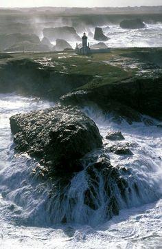 Pointe des Poulains, Belle île en mer...