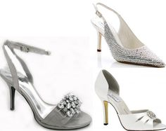 f38522ac0f8a A Wedding Addict  Silver Wedding Shoes Silver Bridal Shoes