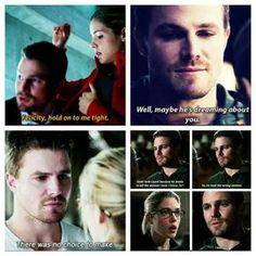 Arrow - Felicity and Oliver #Olicity