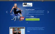Nouveau : site abwave (site mono produit sur magento) http://www.abwave.fr