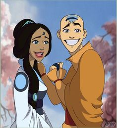 Katara and Aang's wedding! I'm still hoping for a new series to come out that is the years between Avatar: The Last Airbender and The Legend of Korra Korra Avatar, Team Avatar, Mejores Series Tv, Theme Anime, Avatar The Last Airbender Art, Fire Nation, Zuko, Legend Of Korra, Animation