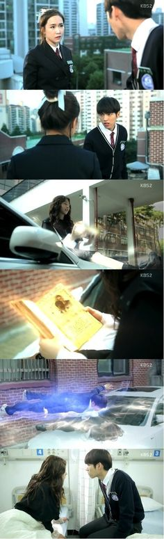 High School: Love On, Kim Sae Ron Angel To Human - I loved her angel clothes.  She looked so cute!