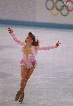 1994 Olympic champion Oksana Baiul of Ukraine