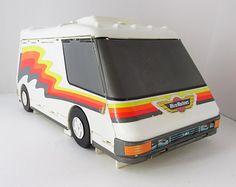 Micro Machines Mobile Super Van City Folding Playset Galoob 1991 Vintage
