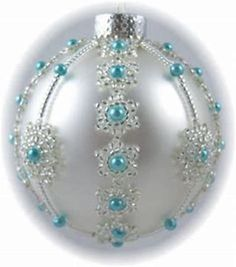 Image result for beaded christmas ornaments free patterns