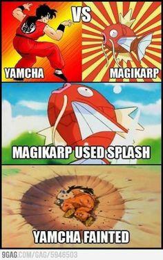 Damn youre useless yamcha