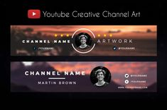 Improve your channel Youtube Design, Youtube Banner Design, Youtube Banners, Animation Mentor, Youtube Banner Backgrounds, Header Banner, Youtube Channel Art, Graph Design, How To Make Logo
