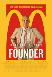 The Founder (2016)  PG-13 7.2  Biography, Drama   The story of Ray Kroc, a salesman who turned two brothers\' innovative fast food eatery, McDonald\'s, into one of the biggest restaurant businesses in the world with a combination of ambition, persistence, and ruthlessness.