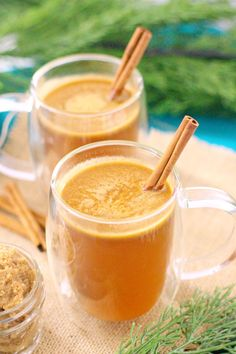 Hot Cider Buttered Rum #ChristmasSweetsWeek