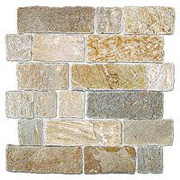 Baoding Crème Brick Mosaic #thetileshop