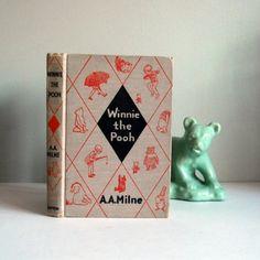 Vintage Winnie the Pooh Book