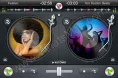 Djay for iPhone & iPod Touch - Scratch. Mix. DJ. 1.2.2 IPA