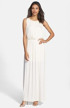 Rehearsal dinner dress? | FELICITY & COCO Grecian Jersey Maxi Dress (Nordstrom Exclusive) | Nordstrom
