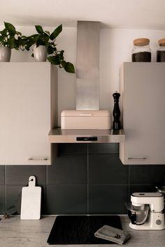 arbeitsplatte bekleben mit folie schwarz steinoptik18 | Küche ...