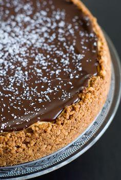 Cheesecake Noix de Coco Chocolat   Lilie Bakery http://liliebakery.fr/cheesecake-noix-de-coco-chocolat-noir/