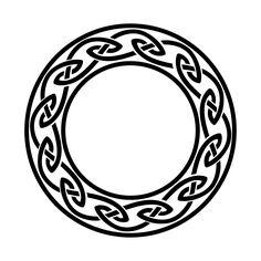 Celtic circle [Irish knots circle flash tattoo]