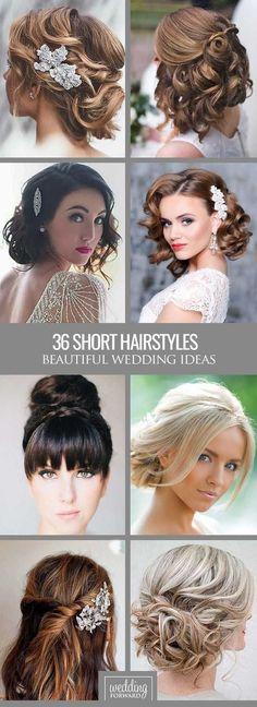 Short Hair Styles For Wedding 45 Short Wedding Hairstyle Ideas So Good You'd Want To Cut Hair