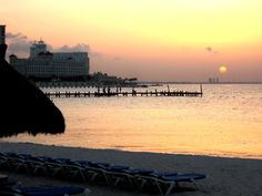Cancun, Mexico - Dreams Resort sunset