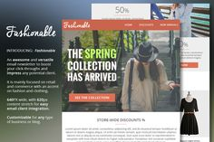 Check out Fashion & Clothing Email Newsletter by DIGITAVERN on Creative Market