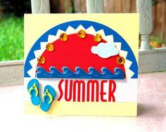 10 ιδέες για καλοκαιρινές κάρτες με τα πατρόν τους! - Kinderella Summer Crafts, Fun Crafts, Crafts For Kids, Summer Activities, Teaching, Education, Classroom Ideas, Cute, Graduation