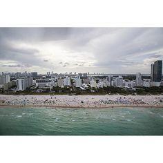 Miami by @jsovs | @flynyon | #flynyonchallenge | @miamiaerialphoto by nyonair