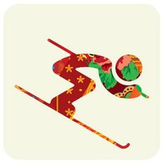 Design Inspiration, Resources & Freebies Creative Designs of the New Winter Olympics 2014 PictogramsCreative Designs of the New Winter Olympics 2014 Pictograms Winter Olympics 2014, Winter Olympic Games, Winter Games, Summer Olympics, Olympic Idea, Alpine Skiing, Winter Crafts For Kids, Winter Art, Applique Quilts