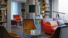 Waldorf Astoria Berlin Hotel, Germany - Library