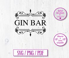 Gin Bar Digital Download Decal by JumbleinkDesign on Etsy Iron On Transfer, Transfer Paper, Heat Transfer Vinyl, Gin Bar, Walking People, T Shirt Transfers, Free Graphics, Cricut Design, Improve Yourself