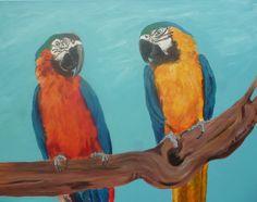 Picasso & Lara Mixed media on canvas