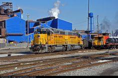 RailPictures.Net Photo: HLCX 1019 Terminal Railroad Association of St. Louis EMD GP38-2 at Granite City, Illinois by Matthew Chapman