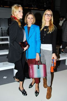 Any Hindmarch Front Row #LFW