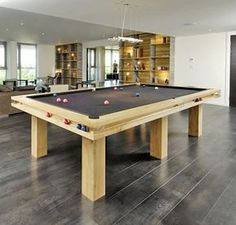 This Will Do! Billiard Table Interior Design | ... American Pool Table In