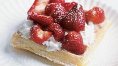 To make these delightful waffles like cookbook author extraordinaire Marion Cunningham, forgo the Belgian waffle-maker and use a…