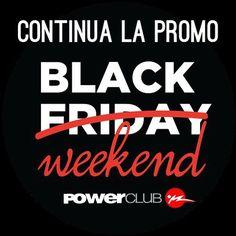 Buenas Noticias !!! @powerclubpanama Continúa su #Promo #BlackFriday Hoy  Mañana y el Lunes 30 de Noviembre !! Paga B/.110.00 x 2 Meses SIN MATRÍCULA!!! #CualEsTuExcusa