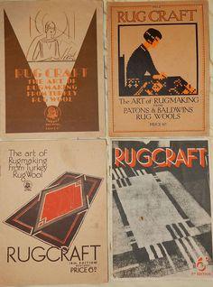 Rugcraft 1,2,4,5 (1920s)