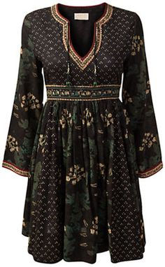 ShopStyle: East Shivji Dress, Black... I would like this in another color but I like it.