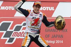 Marc Márquez, bicampeón del mundo más joven de la historia de MotoGP